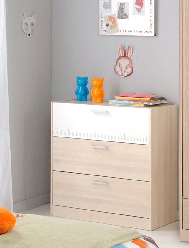 Jugendzimmer chiron 16 akazie nb jugendbett regal nako for Schrank 90x200