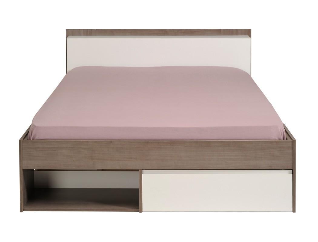 jugendbett bett 140x200 eiche nb singlebett g stebett jugendzimmer morris 1. Black Bedroom Furniture Sets. Home Design Ideas