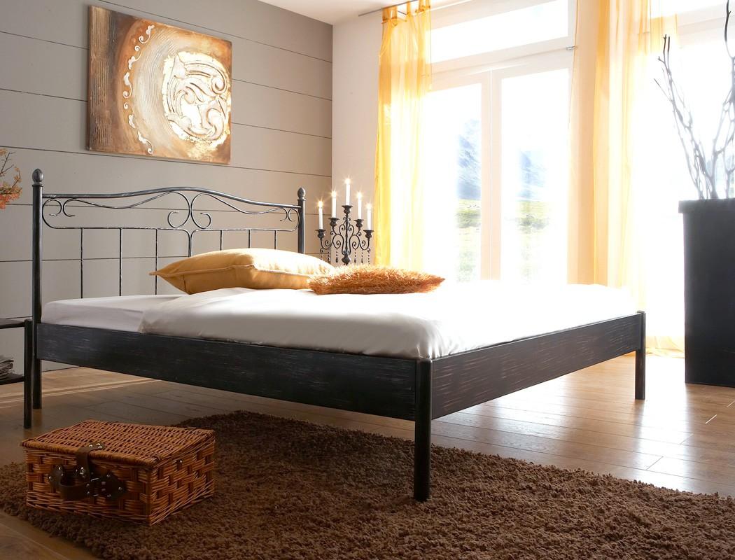 metallbett paros wei struktur gr e nach wahl futonbett. Black Bedroom Furniture Sets. Home Design Ideas