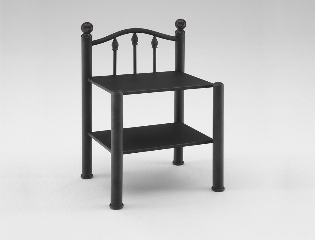 nachttisch madlen 46x68x37 cm metall farbe nach wahl. Black Bedroom Furniture Sets. Home Design Ideas