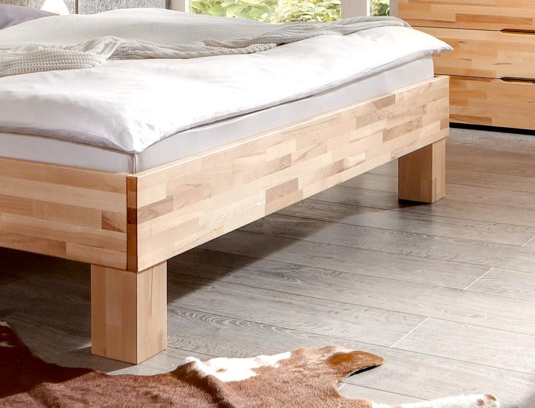 massivholzbett visp buche farbe und gr e nach wahl. Black Bedroom Furniture Sets. Home Design Ideas