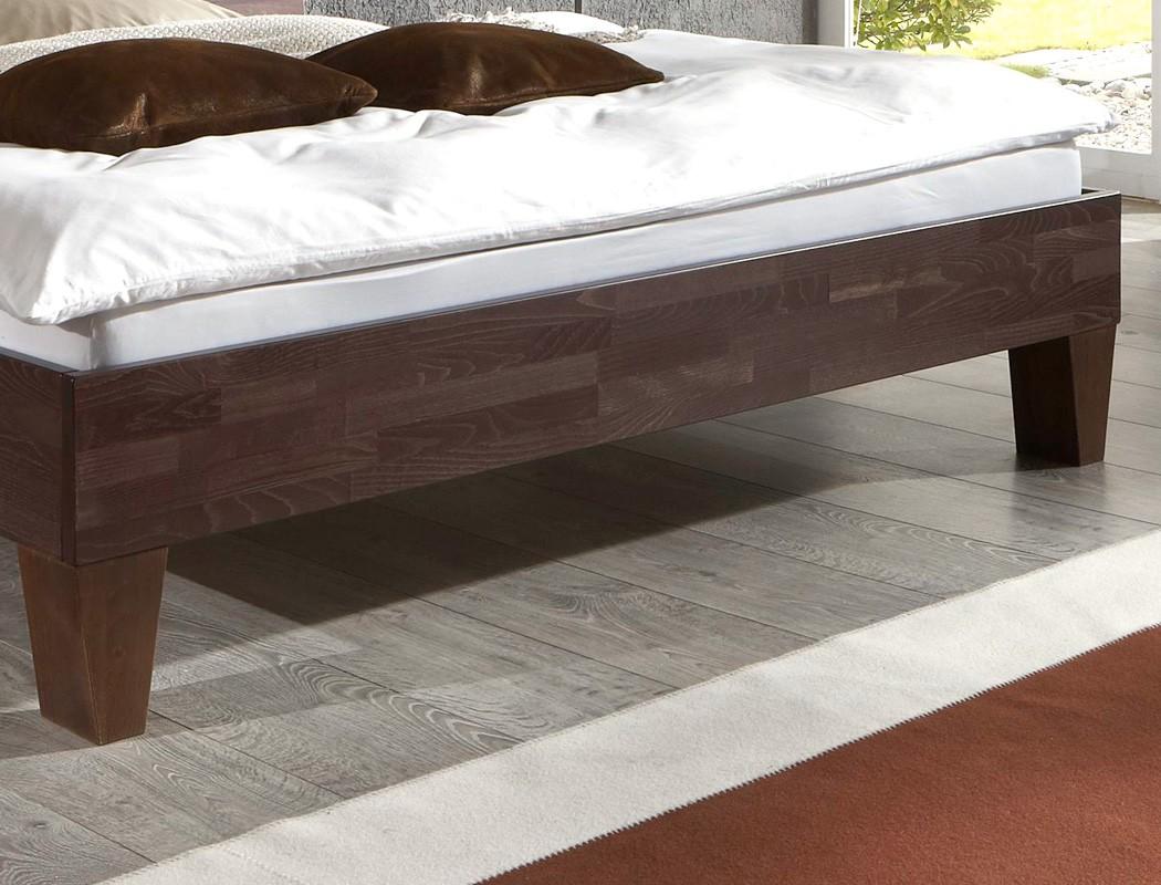 massivholzbett buche farbe und gr e nach wahl futonbett bettgestell bett brig. Black Bedroom Furniture Sets. Home Design Ideas