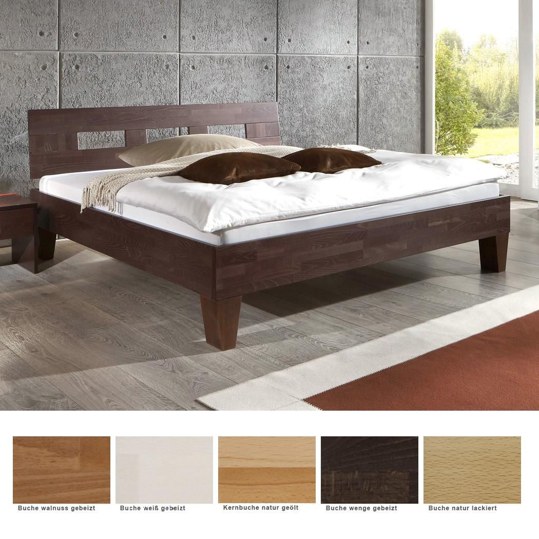 massivholzbett brig buche farbe und gr e nach wahl futonbett ehebett doppelbett ebay. Black Bedroom Furniture Sets. Home Design Ideas