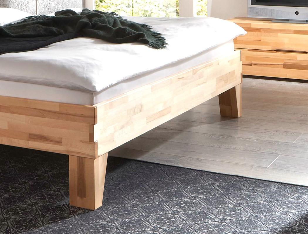 massivholzbett wallis buche farbe und gr e nach wahl futonbett bett wohnbereiche schlafzimmer. Black Bedroom Furniture Sets. Home Design Ideas