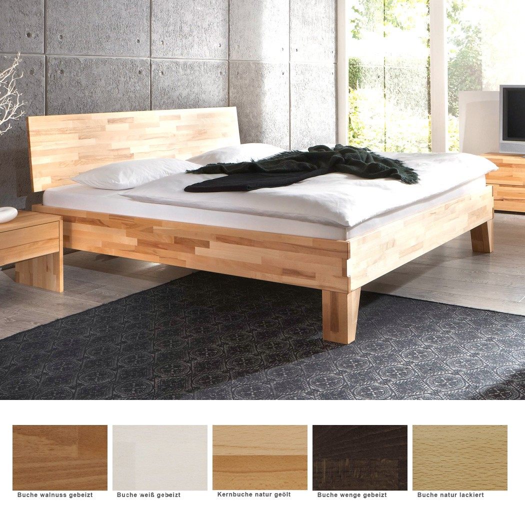 massivholzbett buche farbe und gr e nach wahl futonbett. Black Bedroom Furniture Sets. Home Design Ideas