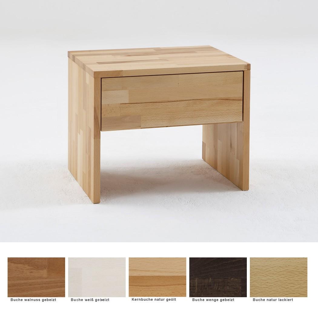 nachttisch goms 1 48x41x39 buche massiv farbe nach wahl nachtkonsole wohnbereiche schlafzimmer. Black Bedroom Furniture Sets. Home Design Ideas
