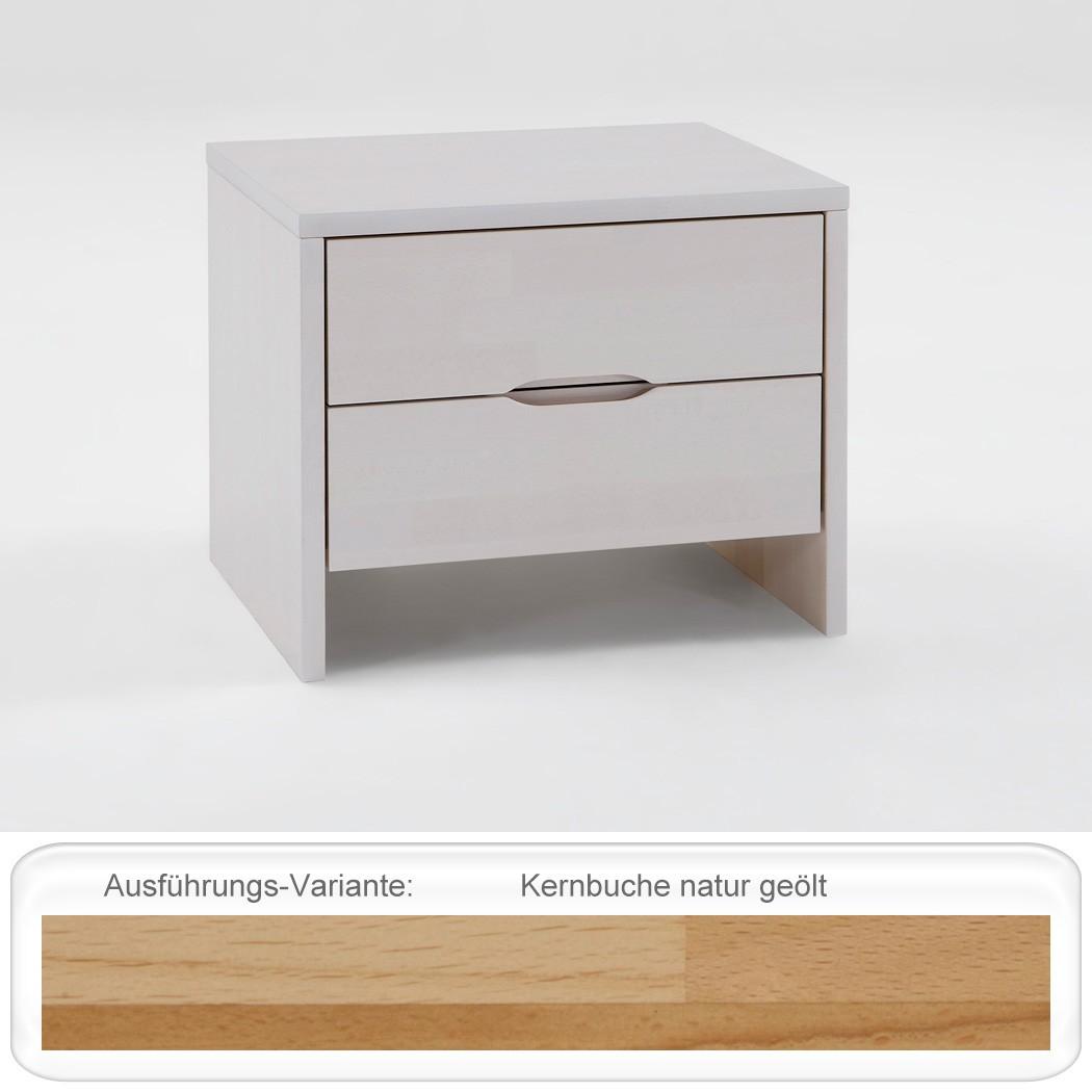 nachttisch goms 2 48x41x39 buche massiv farbe nach wahl. Black Bedroom Furniture Sets. Home Design Ideas