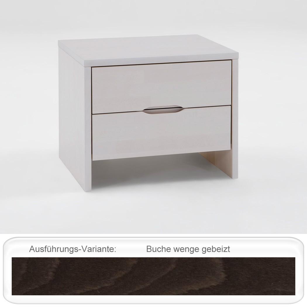 nachttisch goms 2 48x41x39 buche massiv farbe nach wahl nachtkonsole wohnbereiche schlafzimmer. Black Bedroom Furniture Sets. Home Design Ideas