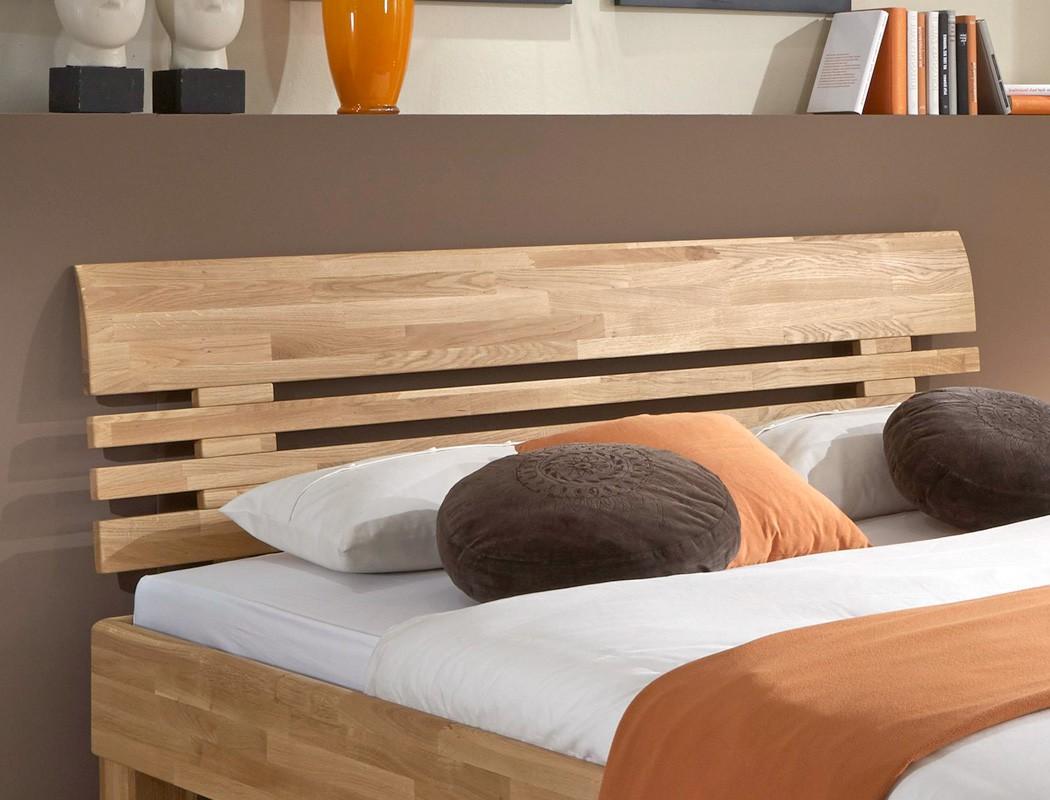 Massivholzbett lugano eiche farbe und gr e nach wahl for Jugendzimmer doppelbett