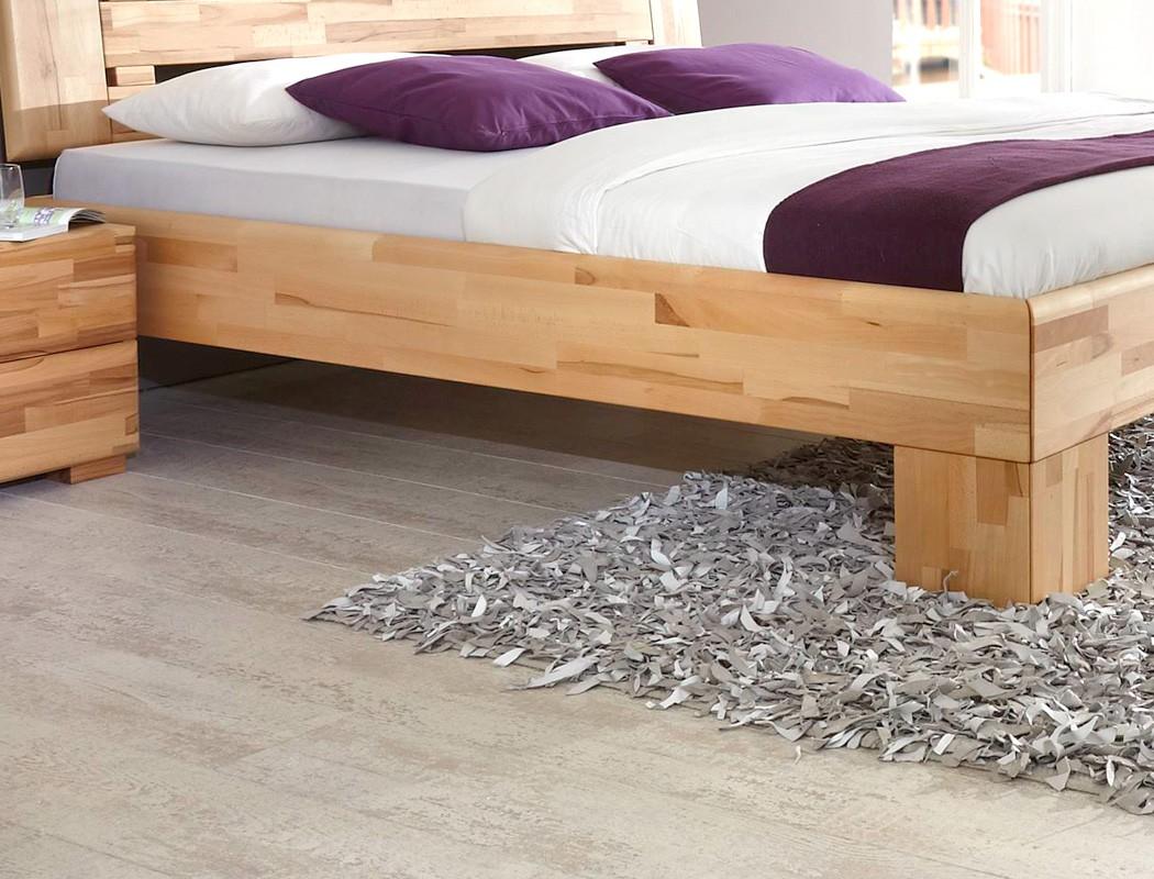massivholzbett losone buche farbe und gr e nach wahl. Black Bedroom Furniture Sets. Home Design Ideas