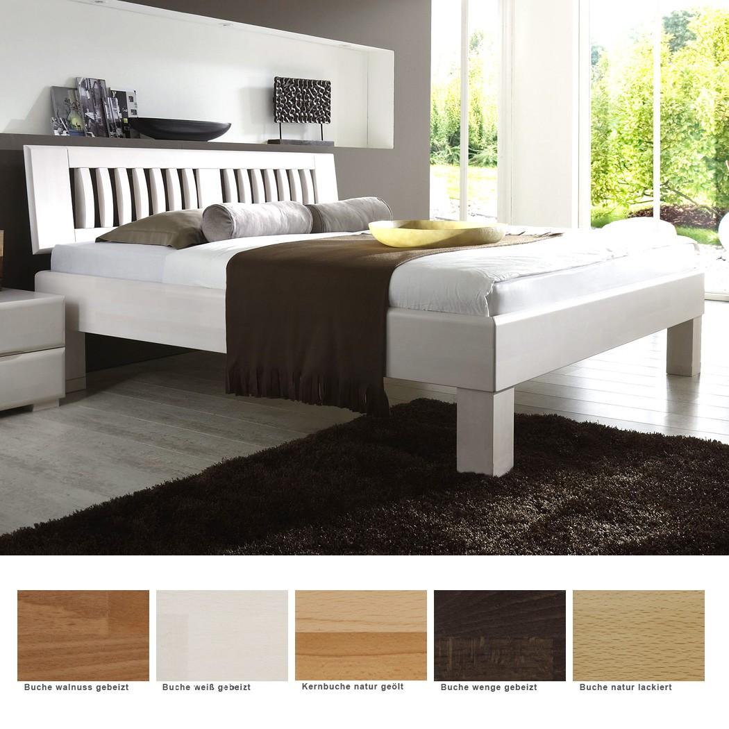 Schön Bett Größe Referenz Von Massivholzbett Fort Buche Farbe Und Größe Nach