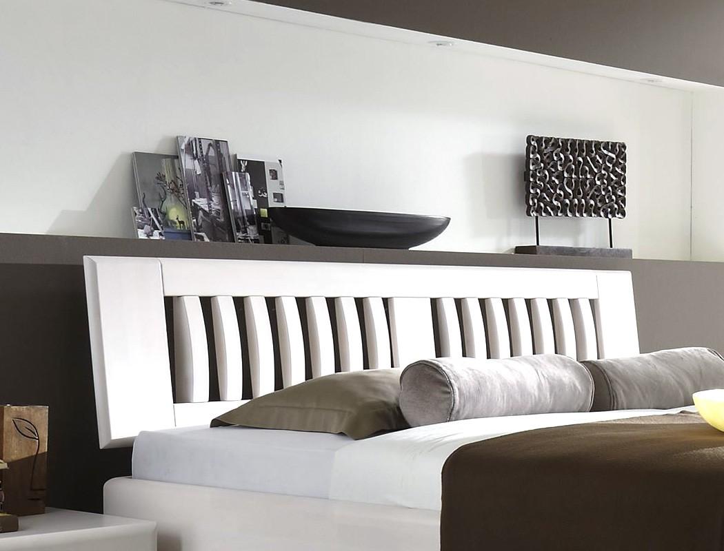 Massivholzbetten weiß  Massivholzbett Ascona Comfort Buche Farbe und Größe nach Wahl Bett ...