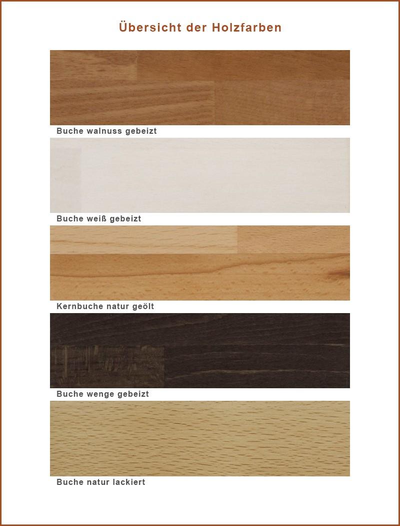 Nachttisch Blenio 1 48x41x40 Buche massiv Farbe nach Wahl ...