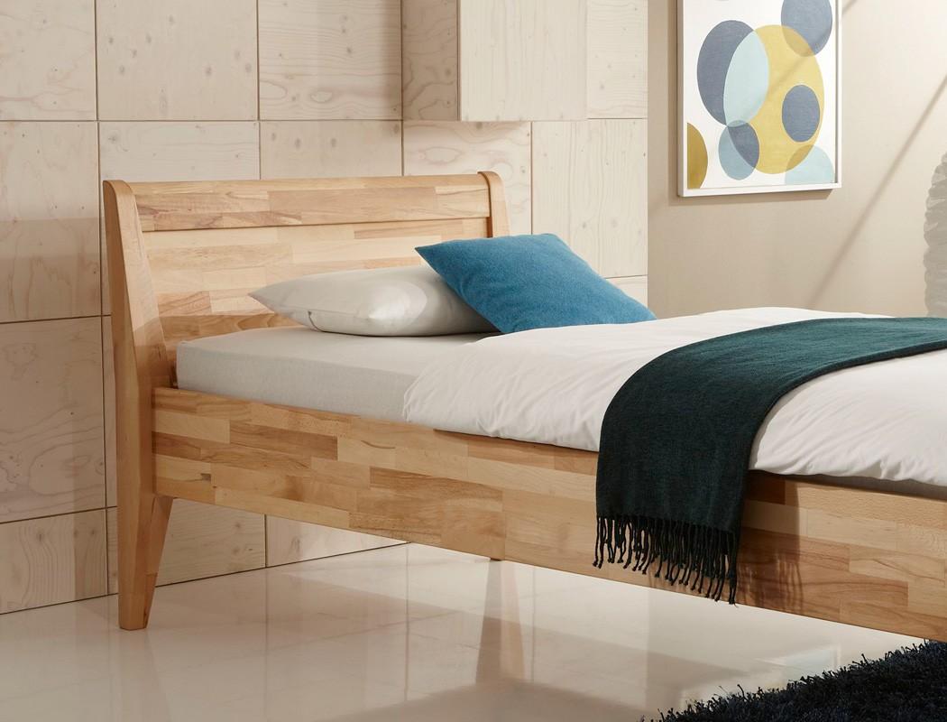 seniorenbett gland comfort eiche massiv farbe und gr e nach wahl bett wohnbereiche schlafzimmer. Black Bedroom Furniture Sets. Home Design Ideas