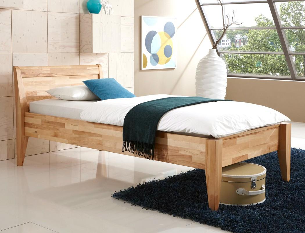 seniorenbett vevey comfort eiche massiv farbe und gr e nach wahl bett wohnbereiche schlafzimmer. Black Bedroom Furniture Sets. Home Design Ideas