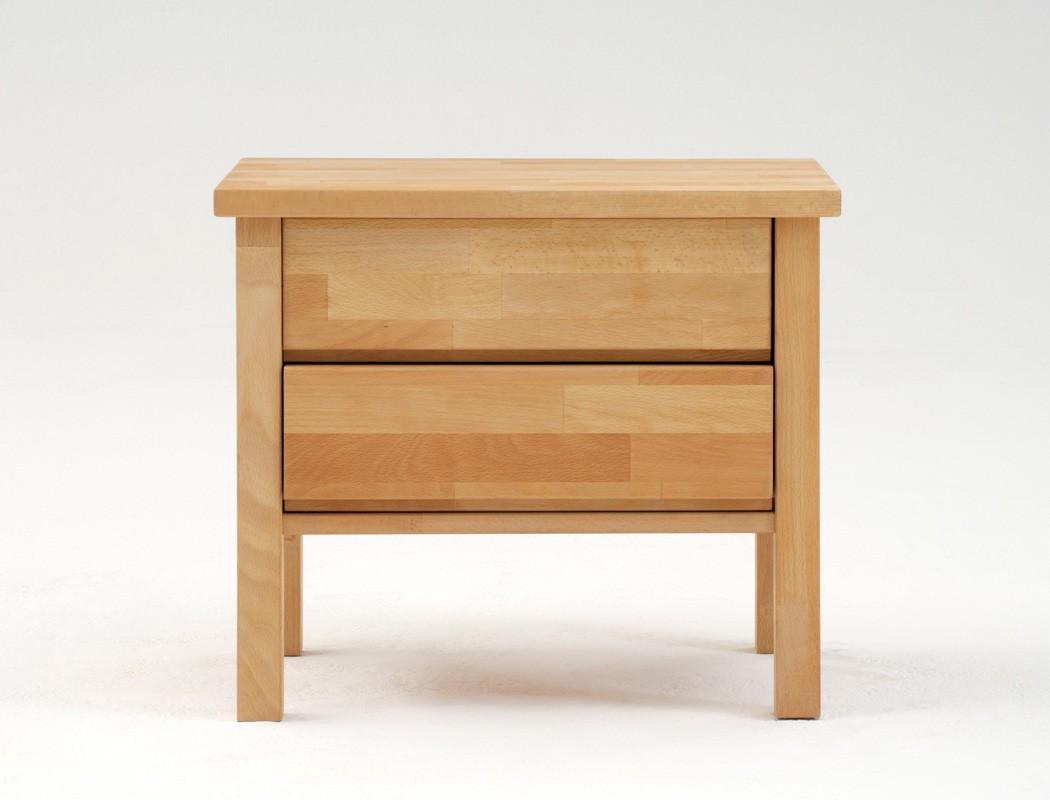 nachttisch gundis 1 comfort 48x48cm buche farbe nach wahl nachtkonsole wohnbereiche schlafzimmer. Black Bedroom Furniture Sets. Home Design Ideas