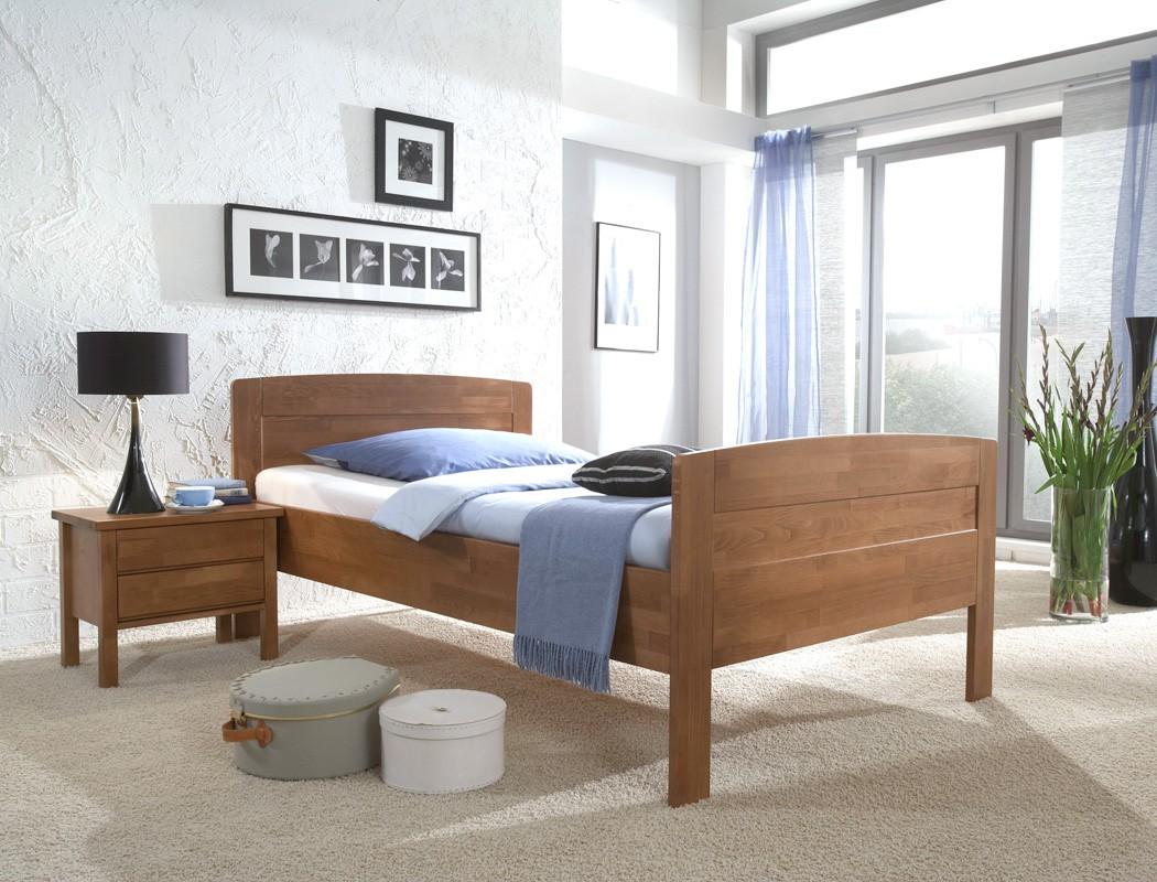 Seniorenbett sion comfort nachttisch buche varianten - Schlafzimmer nachttisch ...