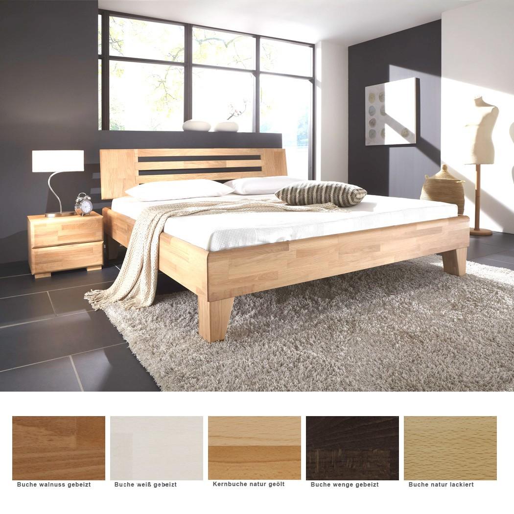 massivholzbett minusio nachttisch buche farbe und gr e nach wahl wohnbereiche schlafzimmer. Black Bedroom Furniture Sets. Home Design Ideas