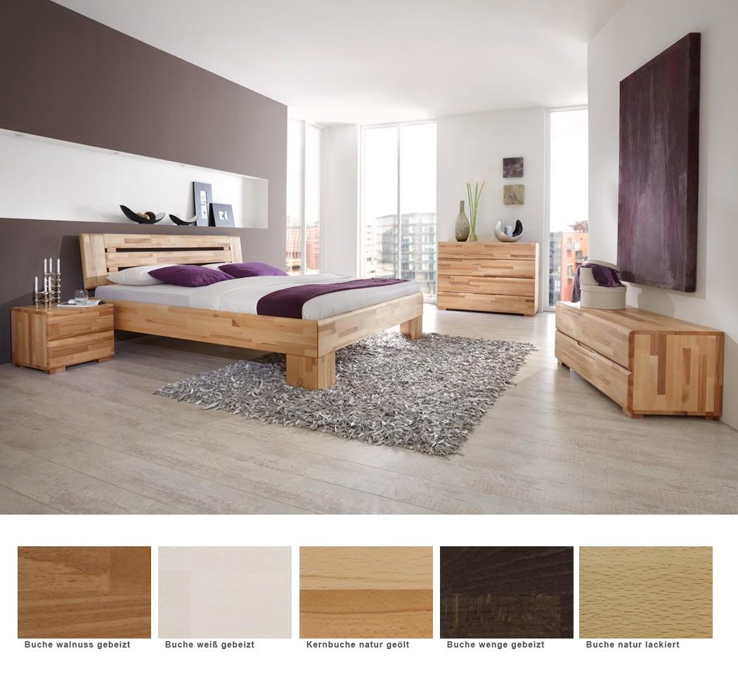 schlafzimmer losone buche massivholzbett kommode lowboard nako wohnbereiche schlafzimmer. Black Bedroom Furniture Sets. Home Design Ideas