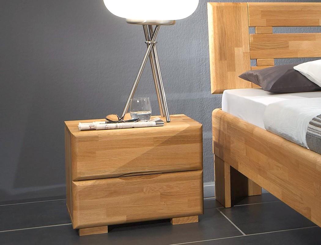 massivholzbett ascona nachttisch buche farbe und gr e nach wahl wohnbereiche schlafzimmer. Black Bedroom Furniture Sets. Home Design Ideas