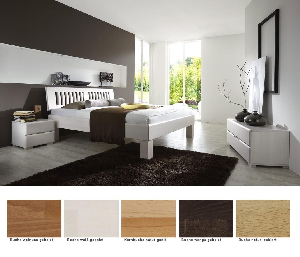 schlafzimmer ascona comfort buche massivholzbett lowboard nako wohnbereiche schlafzimmer. Black Bedroom Furniture Sets. Home Design Ideas