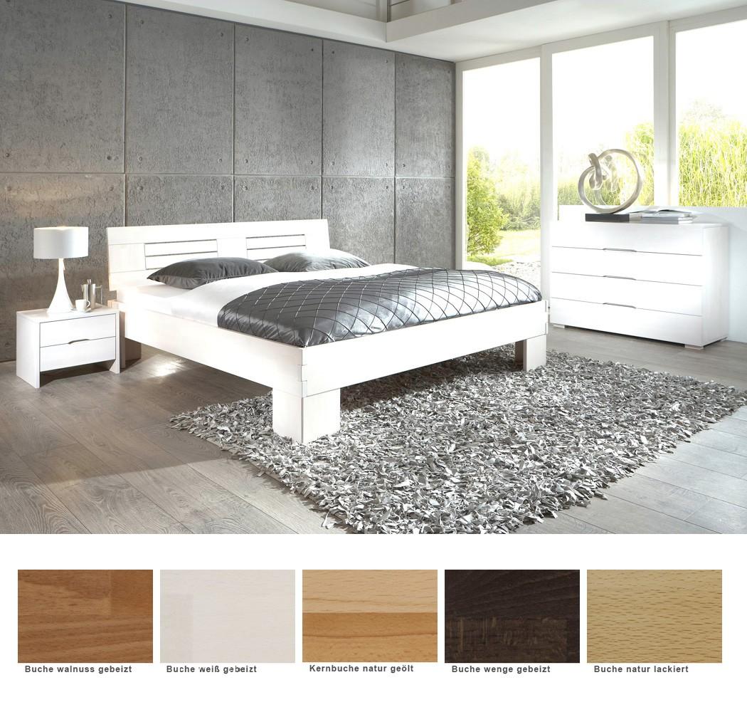 Schlafzimmer ering buche massivholzbett kommode nako - Schlafzimmer buche ...