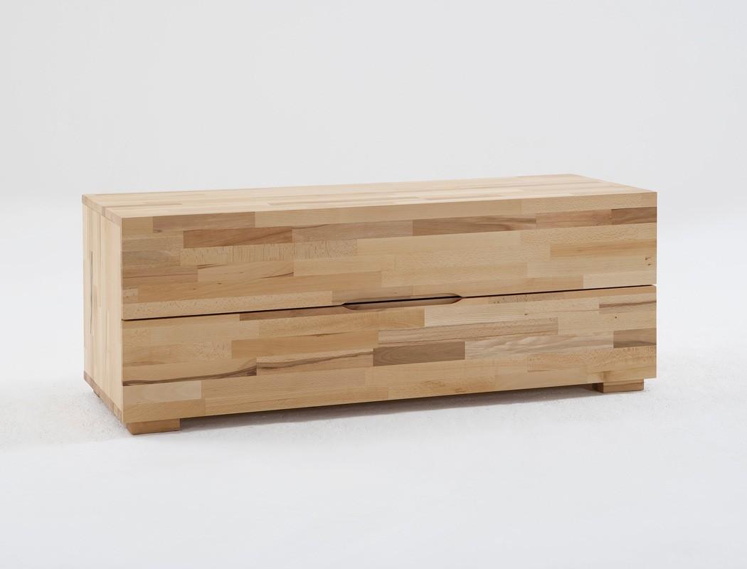 Gut Schlafzimmer Wallis Buche Massivholzbett Kommode Lowboard Nachttisch | EBay