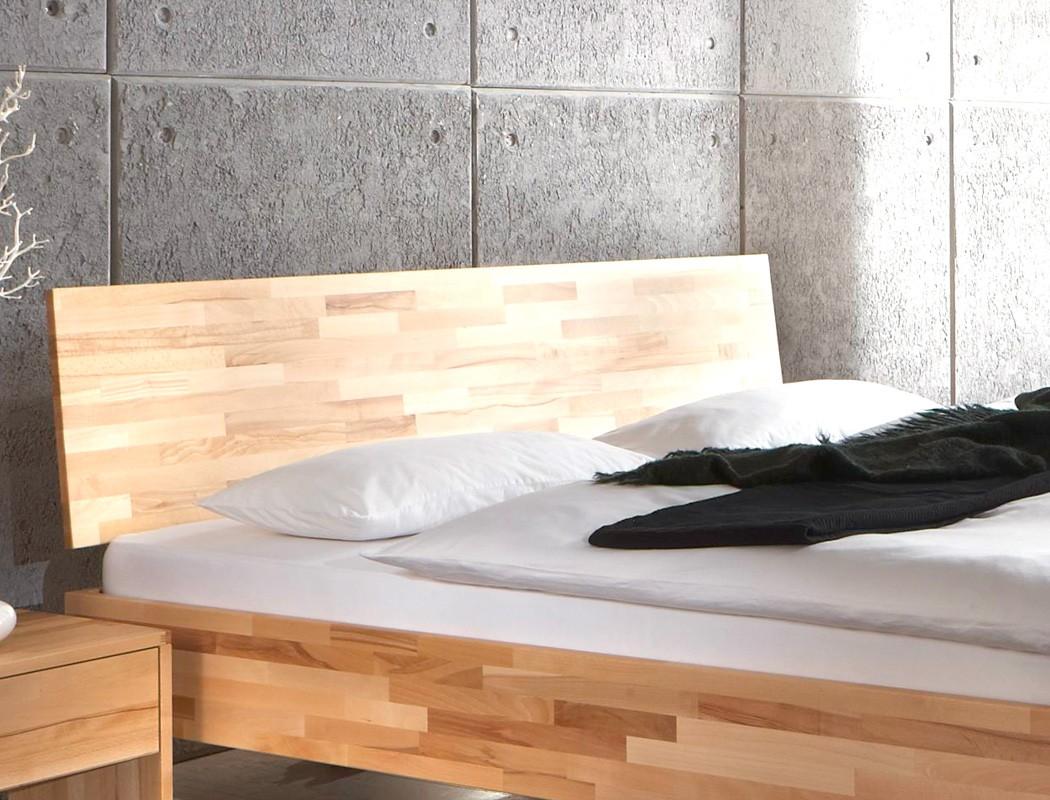 Schlafzimmer Wallis Buche Massivholzbett Kommode Lowboard ...