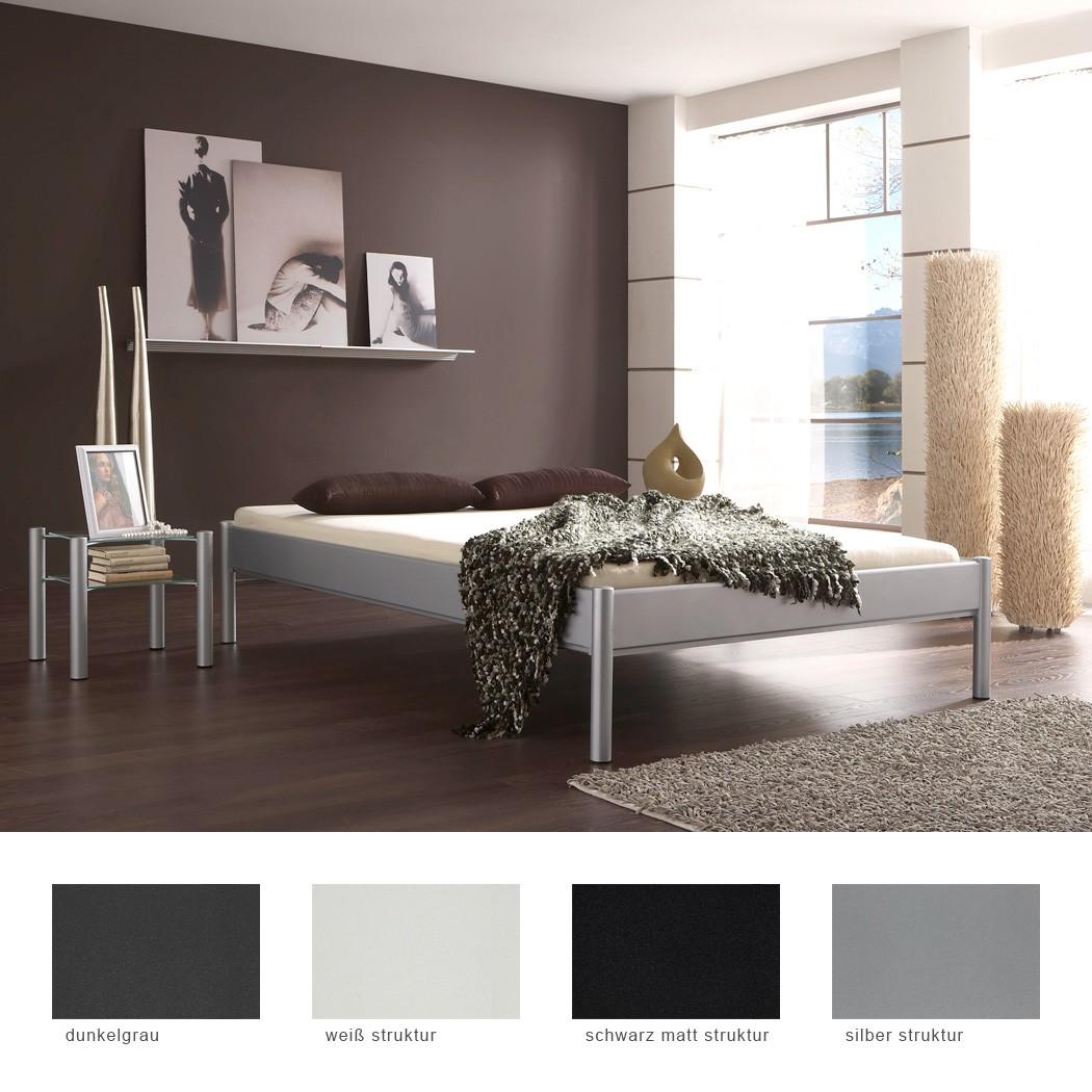 metallbett nachttisch farbe und gr e nach wahl futonbett nachtkonsole simona ebay. Black Bedroom Furniture Sets. Home Design Ideas