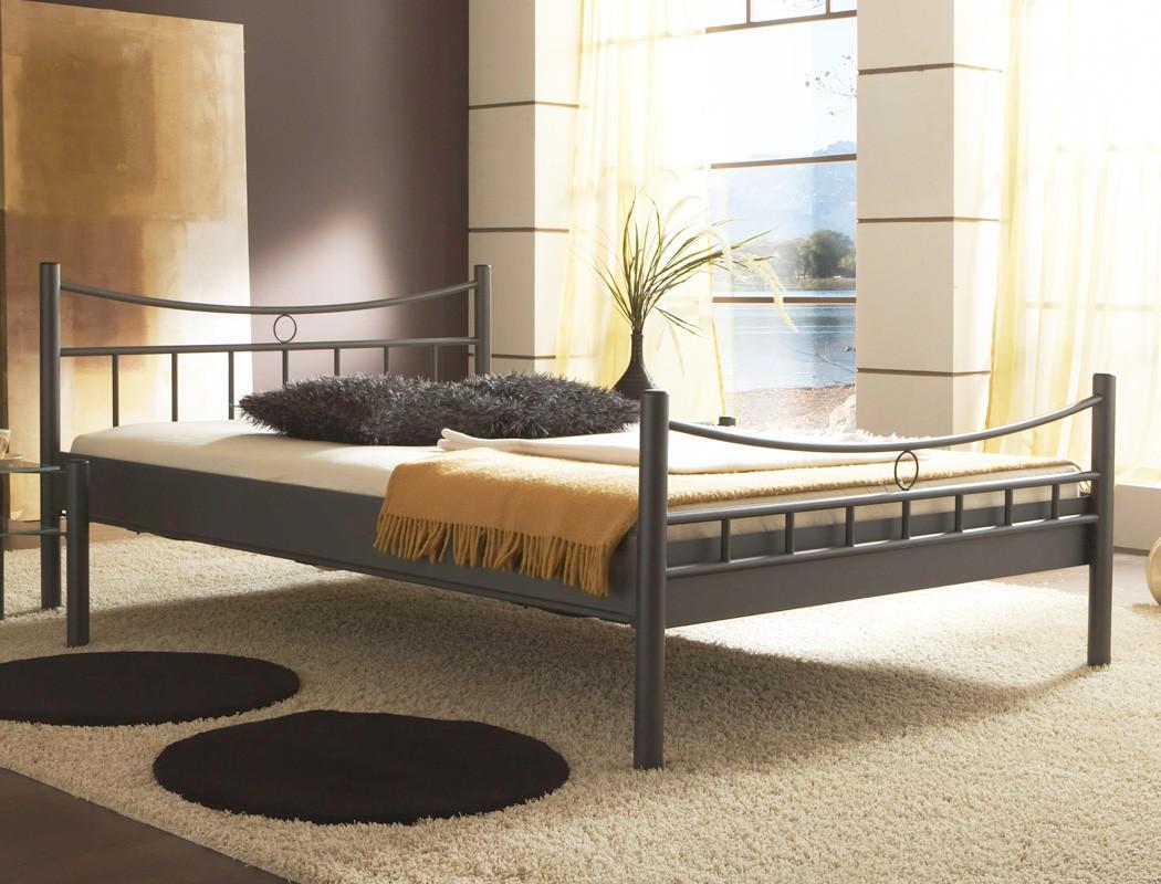 metallbett saeko nachttisch farbe und gr e nach wahl doppelbett wohnbereiche schlafzimmer. Black Bedroom Furniture Sets. Home Design Ideas