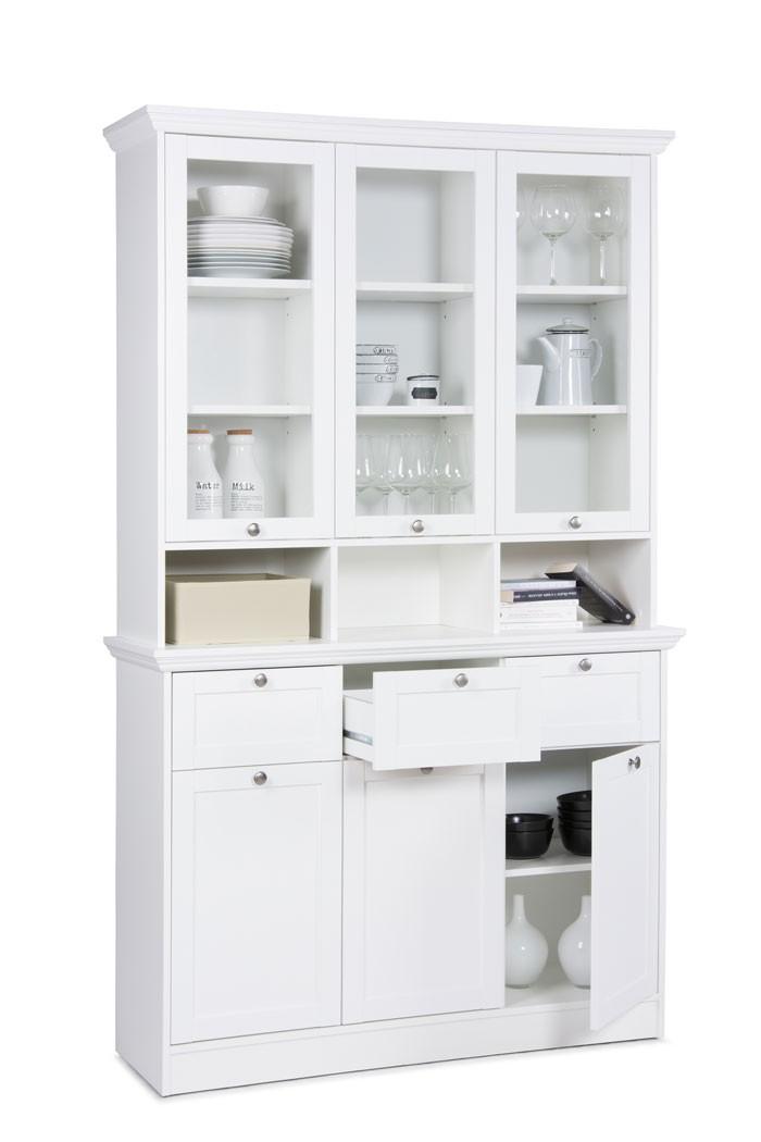 buffetschrank wei 120x200x40 cm buffet schrank esszimmer. Black Bedroom Furniture Sets. Home Design Ideas