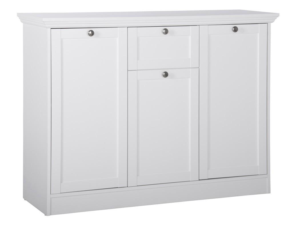 Sideboard wei 120x90x40 cm unterschrank kommode anrichte for Sideboard 260 cm