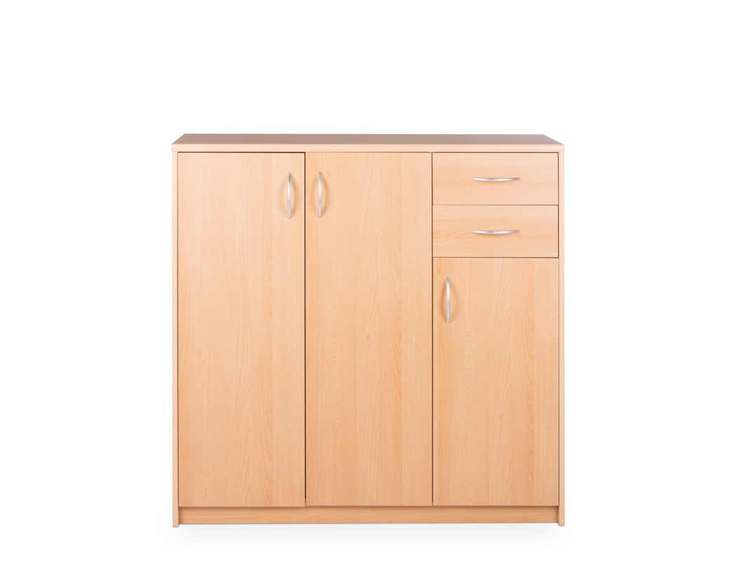 highboard farbe nach wahl 109x111x35 cm schrank wohnzimmer. Black Bedroom Furniture Sets. Home Design Ideas