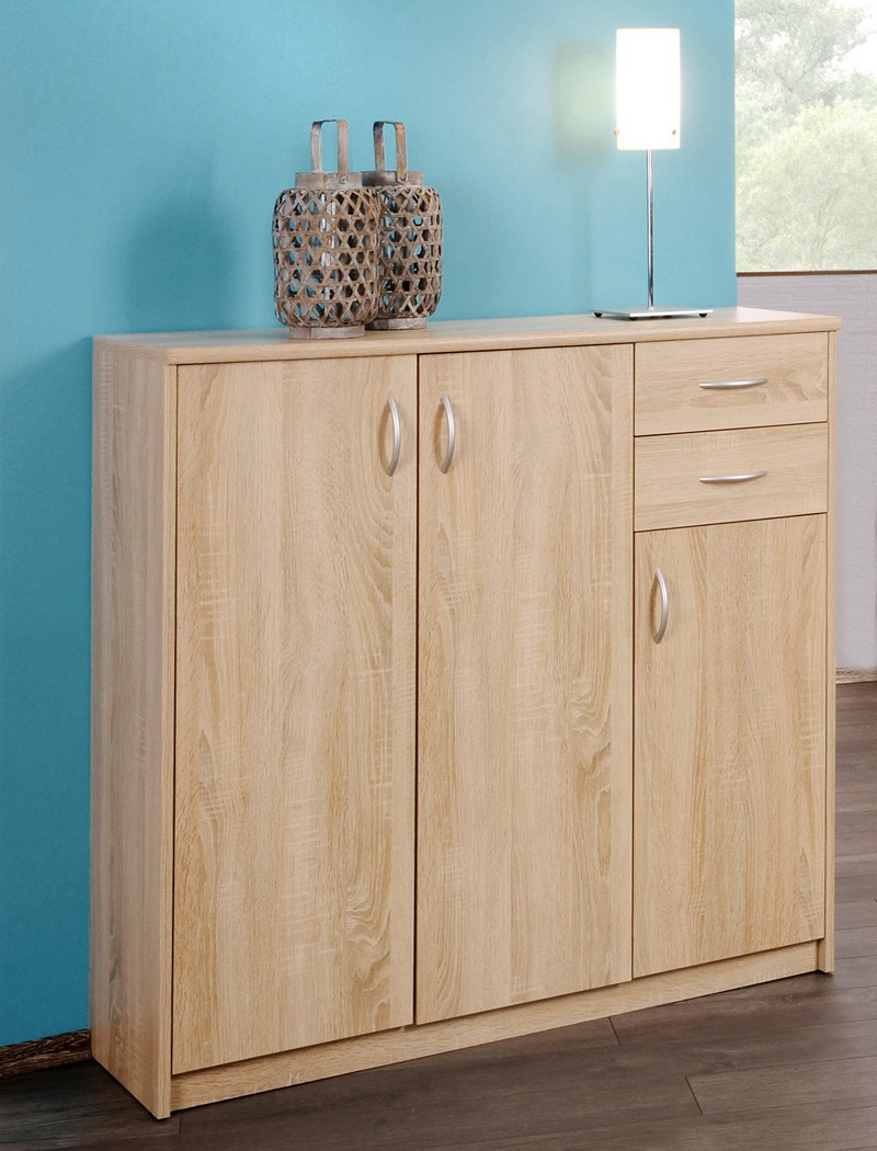 sideboard koblenz eiche sonoma modell nach wahl highboard unterschrank wohnbereiche wohnzimmer. Black Bedroom Furniture Sets. Home Design Ideas
