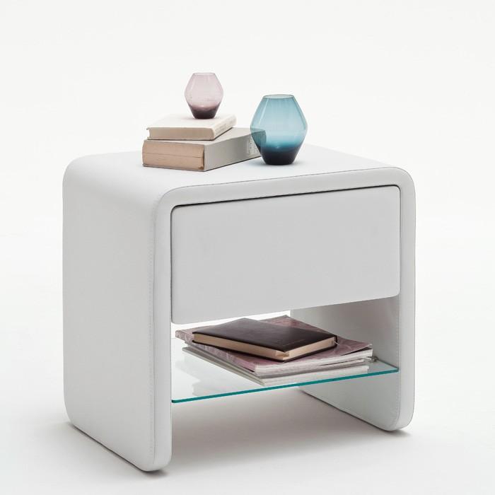 polsterbett malin 140x200 weiss nachttisch flash lattenrost matratze ebay. Black Bedroom Furniture Sets. Home Design Ideas
