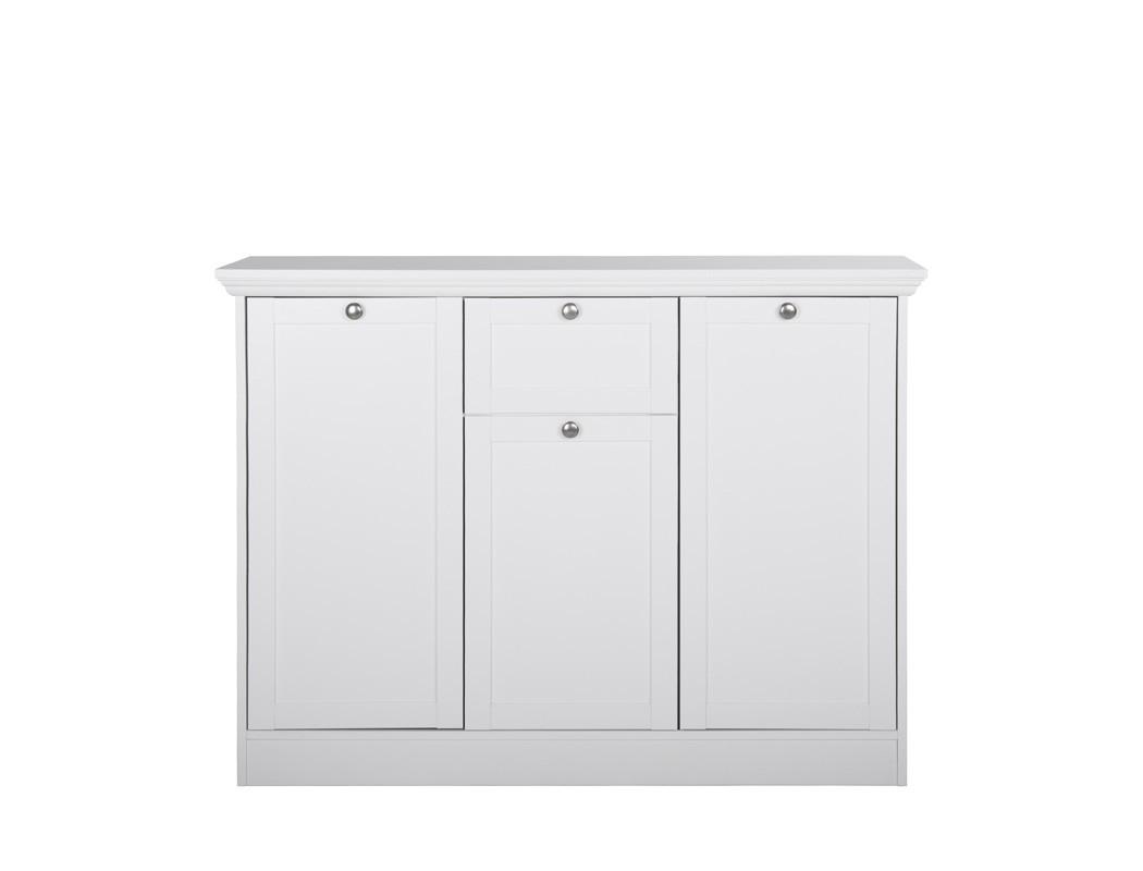garderobenset wei sideboard schuhschrank schrank diele flur landstr m 148 ebay. Black Bedroom Furniture Sets. Home Design Ideas