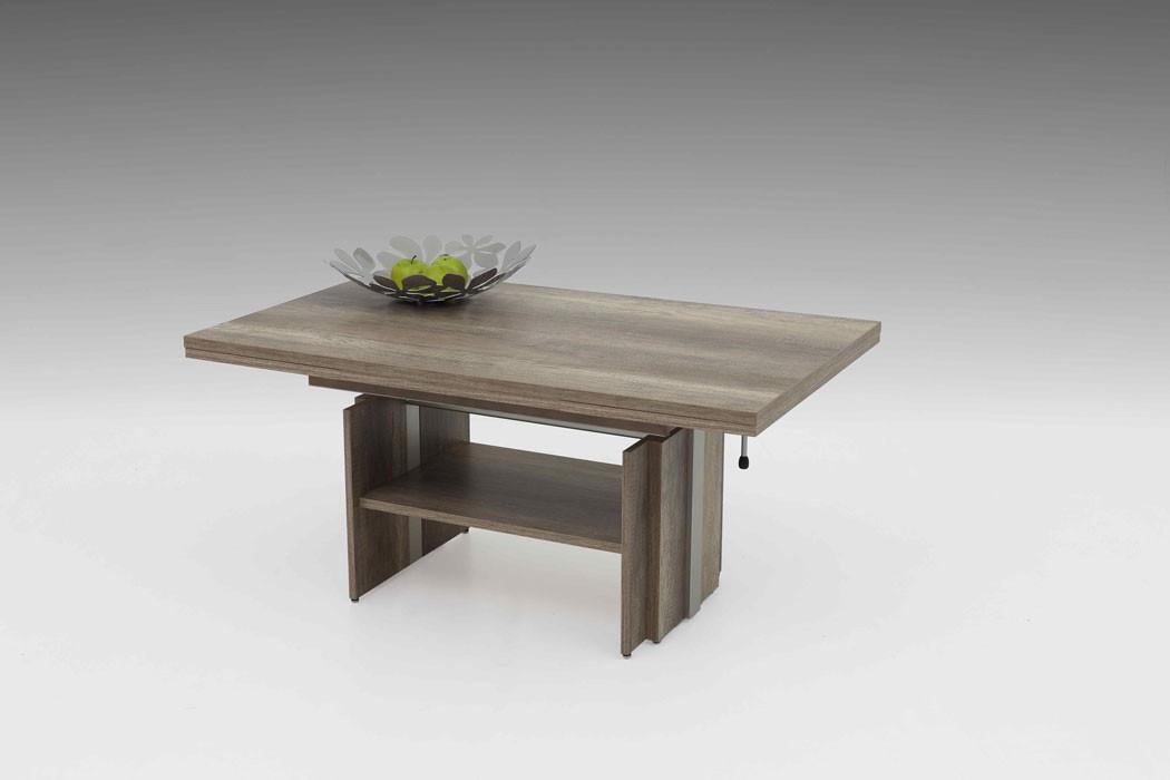 couchtisch jerrit wildeiche 110 177 x68x53 cm ausziehbar h henverstellbar tisch ebay. Black Bedroom Furniture Sets. Home Design Ideas