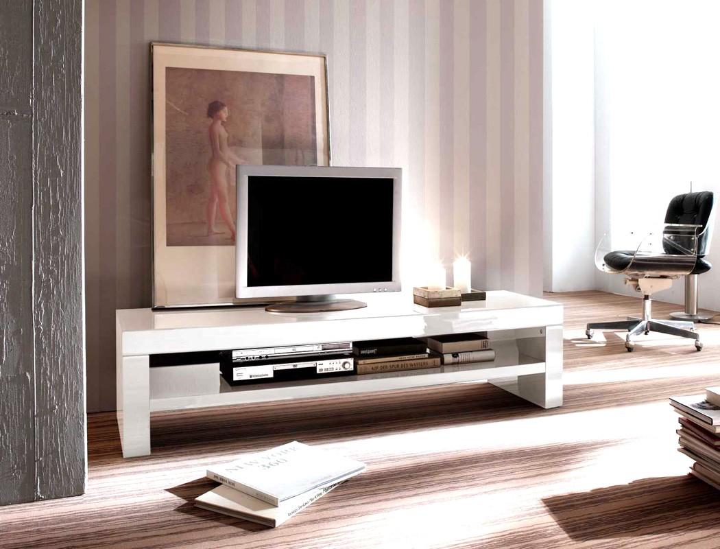 lowboard giza 160x40x45 cm wei hochglanz tv board. Black Bedroom Furniture Sets. Home Design Ideas