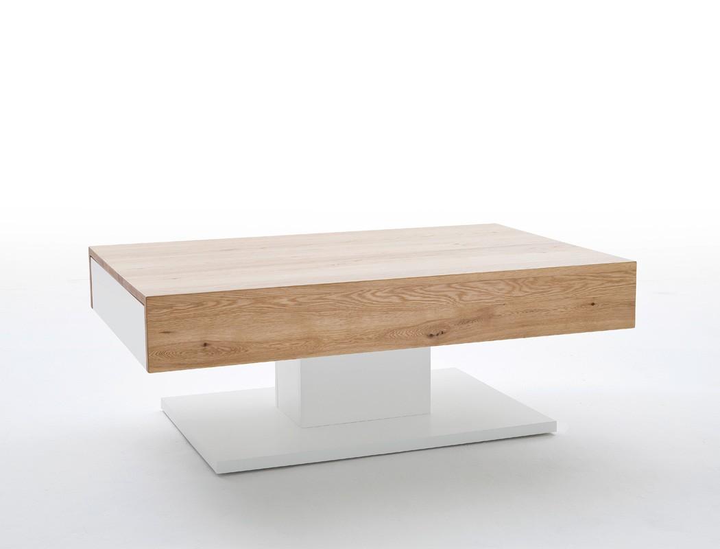 couchtisch 110x70x40 cm wei eiche furniert sofatisch beistelltisch lara ii ebay. Black Bedroom Furniture Sets. Home Design Ideas
