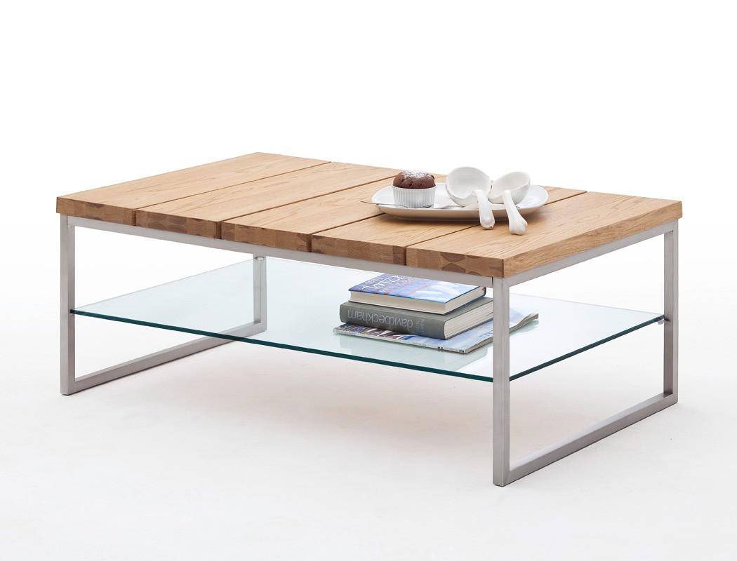 couchtisch 100x60x39 asteiche furniert sofatisch beistelltisch wohnzimmer norwin ebay. Black Bedroom Furniture Sets. Home Design Ideas