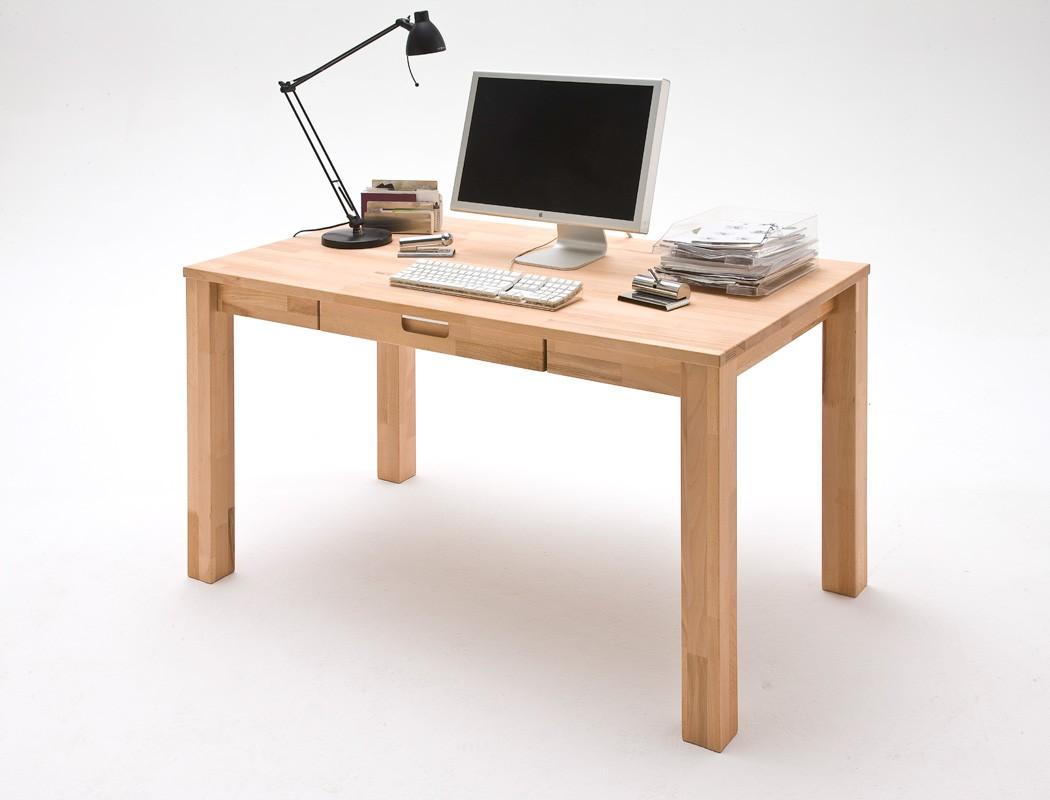 schreibtisch cecil 2 140x80x76 cm kernbuche massiv ge lt b rotisch wohnbereiche kinder. Black Bedroom Furniture Sets. Home Design Ideas