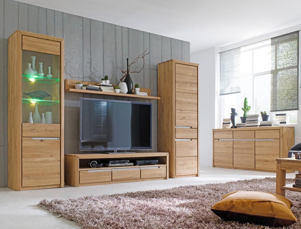 lowboard eiche massiv bianco 165x43x46 cm tv m bel tv schrank wohnzimmer pisa 8 ebay. Black Bedroom Furniture Sets. Home Design Ideas