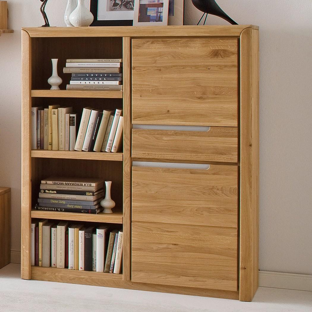 wohnzimmer eiche massiv bianco 5 teilig wohnwand couchtisch wohnm bel pisa 46 ebay. Black Bedroom Furniture Sets. Home Design Ideas