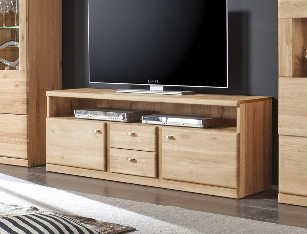 lowboard lanciano 143x56x42 wildeiche teilmassiv tv schrank tv board wohnbereiche wohnzimmer tv. Black Bedroom Furniture Sets. Home Design Ideas