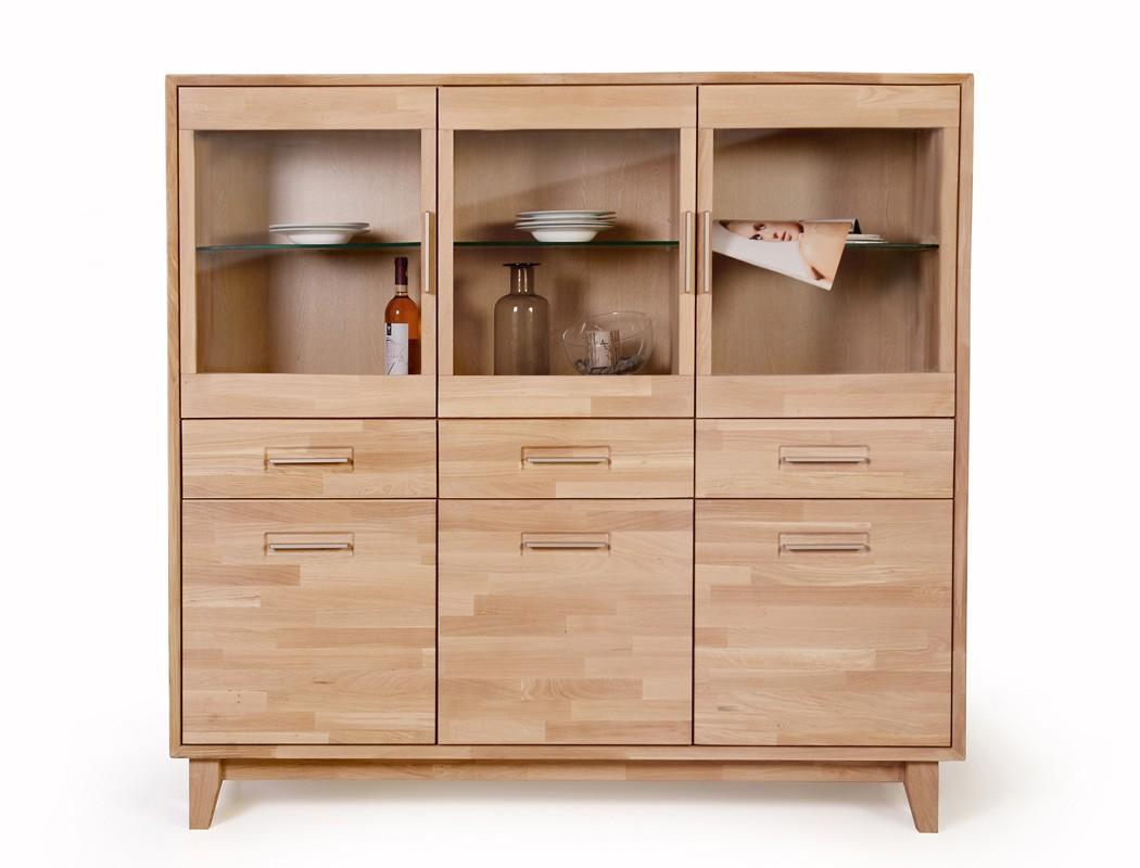 highboard nevio 1 varianten 160x150x45 cm vitrinenschrank. Black Bedroom Furniture Sets. Home Design Ideas