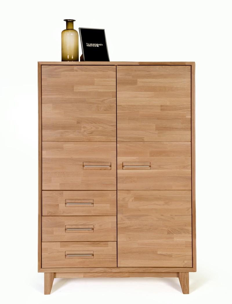 Schrank nevio 2 varianten 100x150x45 cm highboard for Schrank versenden