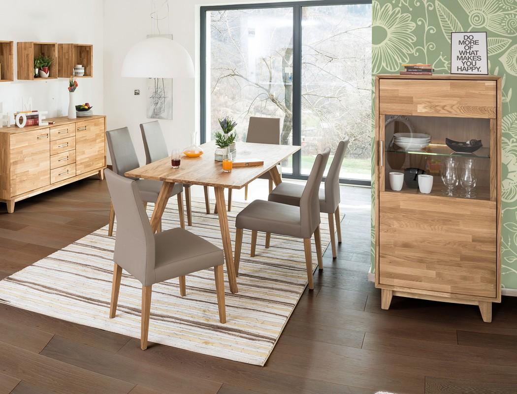 vitrine nevio klein 65x150x45cm rechts 1 t rig varianten. Black Bedroom Furniture Sets. Home Design Ideas
