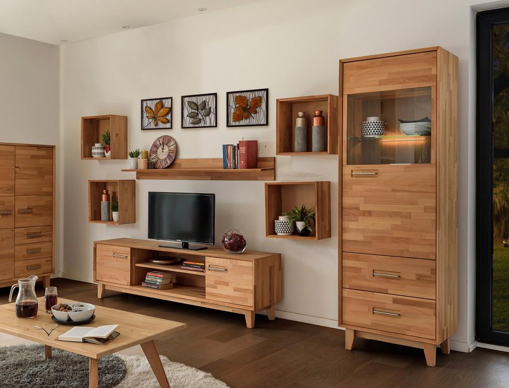 vitrine nevio gro 65x200x45cm rechts 1 t rig varianten. Black Bedroom Furniture Sets. Home Design Ideas