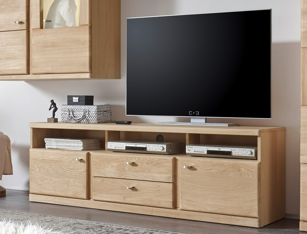 tv lowboard lanciano 170x56x42 wildeiche teilmassiv schrank tv board wohnbereiche wohnzimmer tv. Black Bedroom Furniture Sets. Home Design Ideas