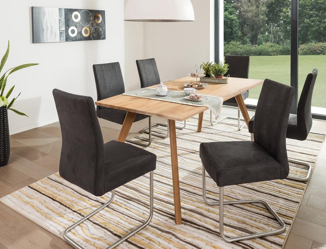esstisch tromsa tisch mit fester platte rechteckig variante massivholz wohnbereiche esszimmer. Black Bedroom Furniture Sets. Home Design Ideas